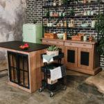 meubles de cuisines fer et bois factory