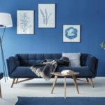 salon couleur classic blue - bleu indigo