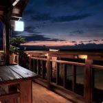 balcon de nuit applique extérieure