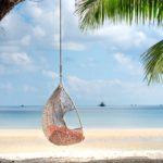 exterieur fauteuil suspendu palmier