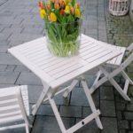 table pliante bois blanc